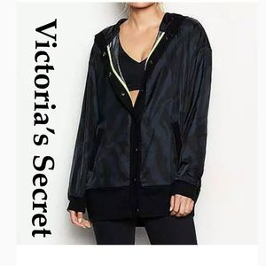 NWT Victoria's Secret camo track jacket S runs big
